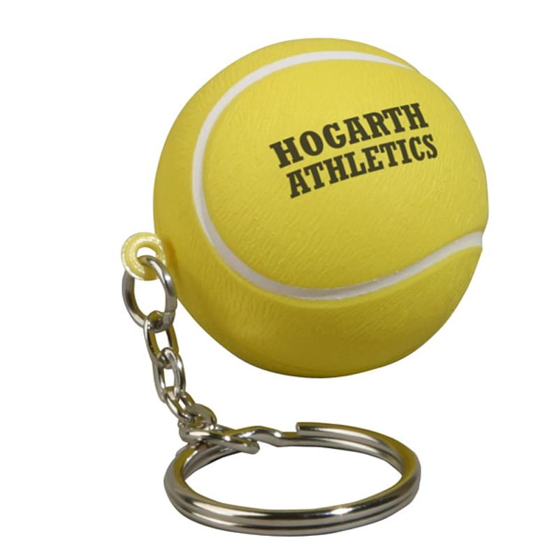 Keychain, Tennis Ball Stress Relievers