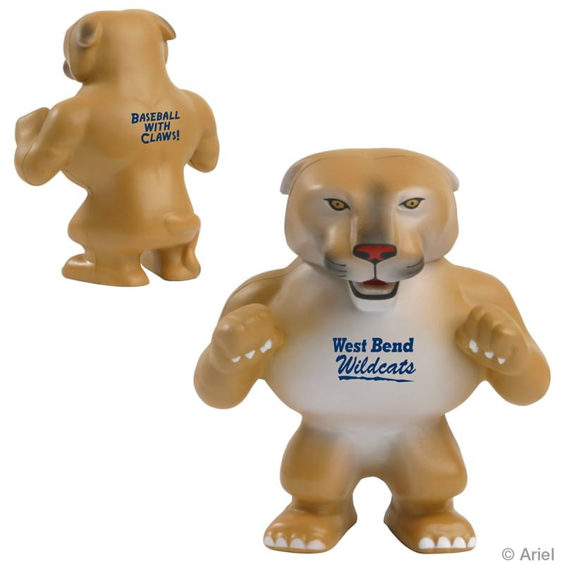 Wildcat Cougar Mascot Stress Relievers