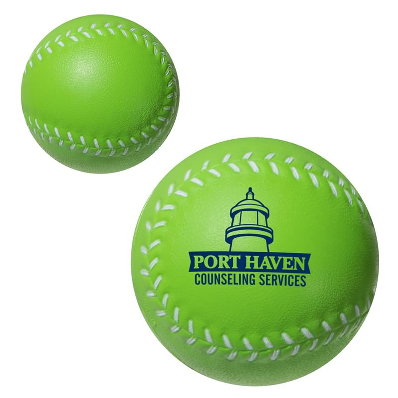 "2 1/2"" Stress Mini-Baseballs"