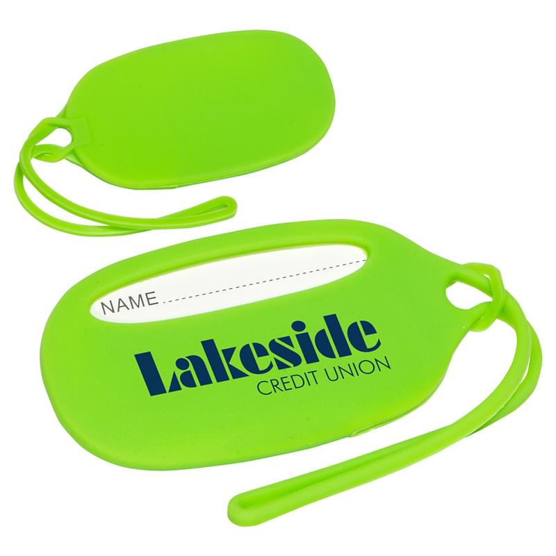 Durable Silicone Luggage Tag