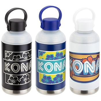 Kona 17 oz Stainless Steel Vacuum Insulated Bottle Black