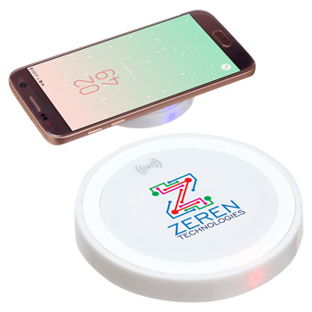 Power Disc 5W Wireless Charger White
