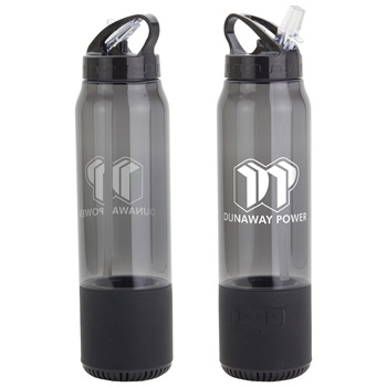 Fusion 22 oz Combo Water Bottle & Wireless Speaker
