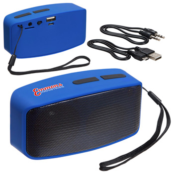 Sonic Sound Bluetooth Speaker with FM Radio & Mic
