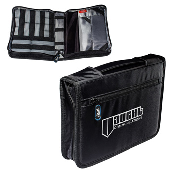 Tech Adjustable Tablet Case w/ Accessory Organizer