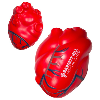 Heart with Blue Veins Stress Reliever