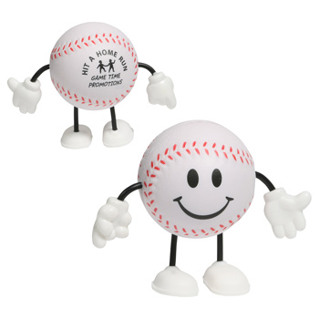Baseball Stress Reliever Figure