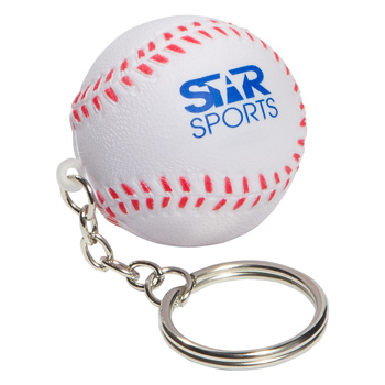 Keychain, Baseball Stress Relievers