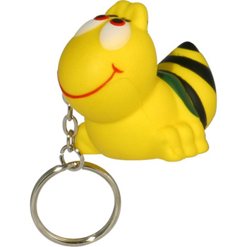 Bee Stress Reliever Keychain