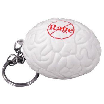 Brain Stress Reliever Keychain
