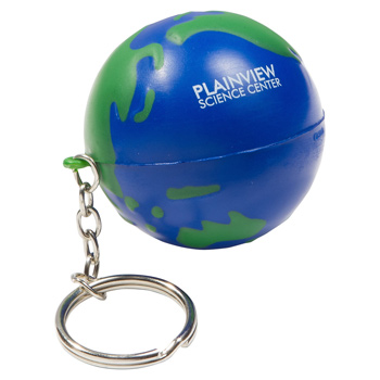 Earthball Stress Reliever Key Chain