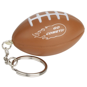 Keychain, Football Stress Relievers