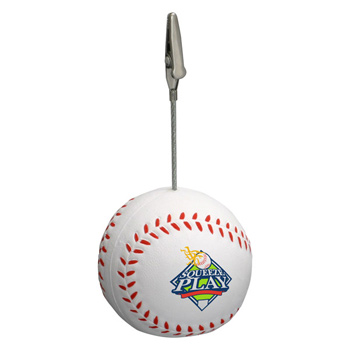 Baseball Stress Reliever Memo Holder