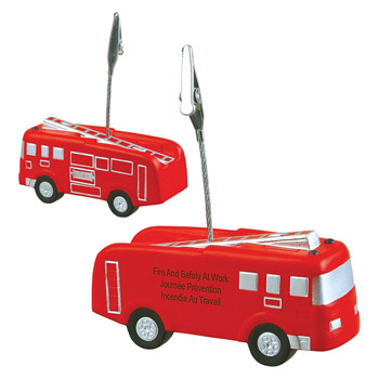 Fire Truck Stress Reliever Memo Holder