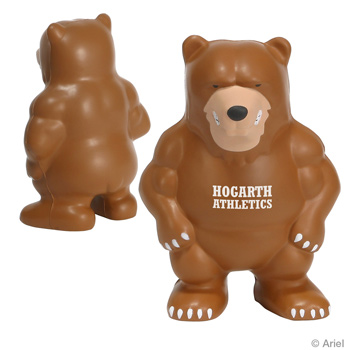 Bear Mascot Stress Relievers
