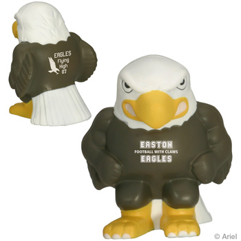 Eagle Mascot Stress Relievers