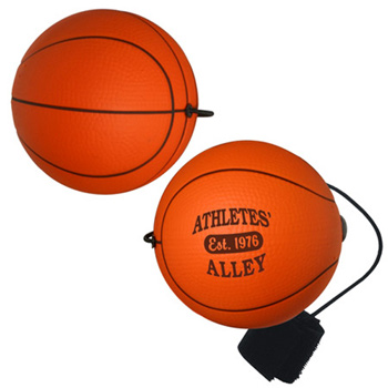Yo-Yo Bungee Stress Relievers (Basketballs)