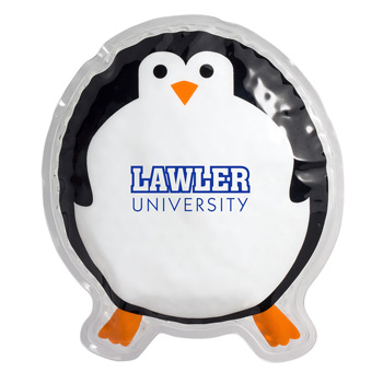 Round Penguin Hot/Cold Pack