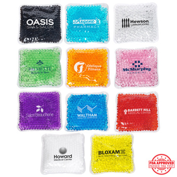 Square Aqua Pearls(TM) Hot/Cold Pack