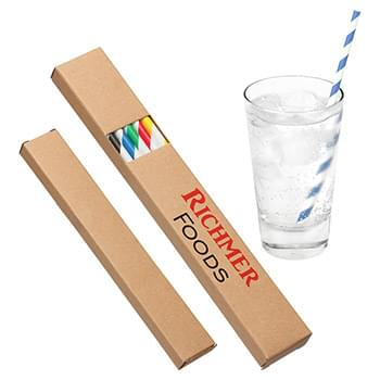 Vellum Paper Straw Pack Assorted