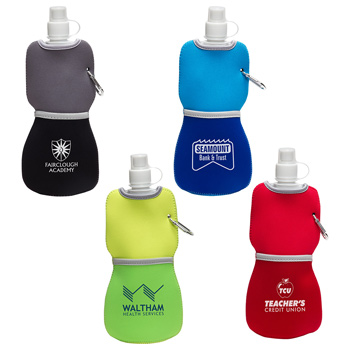 16 Oz. Flex Water Bottle w/ Neoprene Insulator