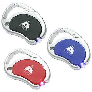 Carabiner Swivel Light & Pen