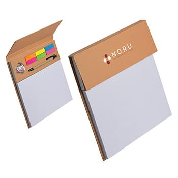 Jot 'N Plot Recycled Organizer Notebook Sand