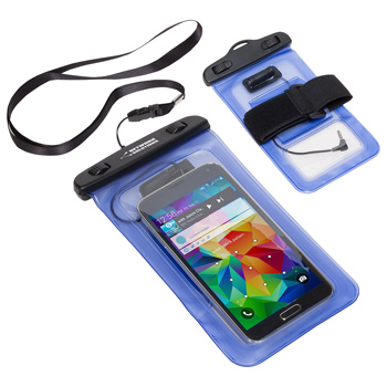 Dual Use Waterproof Smart Phone Case w/ Audio Jack