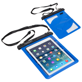 Waterproof Tablet Case w/ Audio Jack