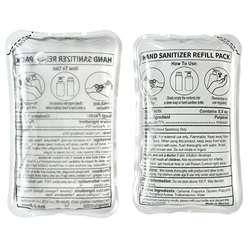Companion 5.5 oz Refill Hand Sanitizer Pack